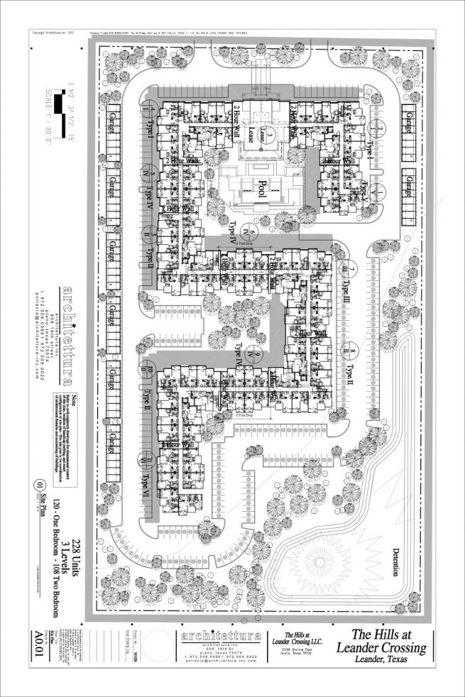 Leander Site Plan